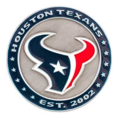 Houston Texans Challenge Coin Front