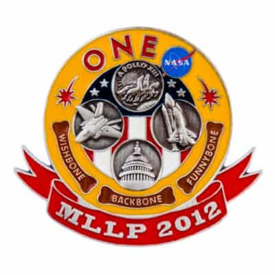 MLLP 2012 NASA Commemorative Lapel Pin