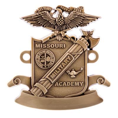 Missouri Military Academy 125th Anniversary Medallion