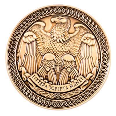 National Archives Medallion Back