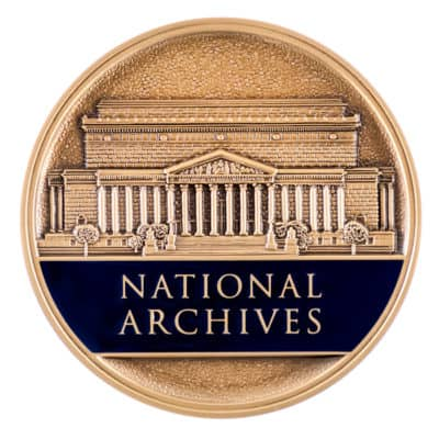 National Archives Medallion Front