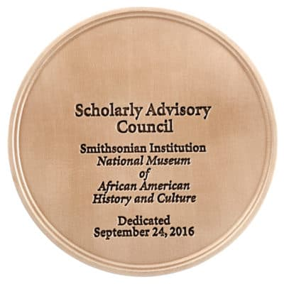 National Museum of African American History and Culture Medallion Front
