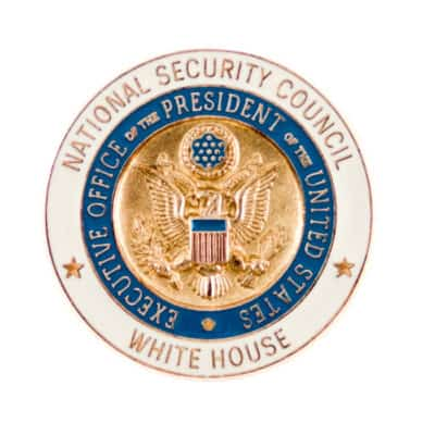 National Security Council Lapel Pin