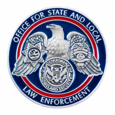 Office for State and Local Law Enforcement Lapel Pin