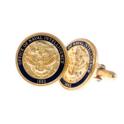 Office of Naval Intelligence Cufflinks