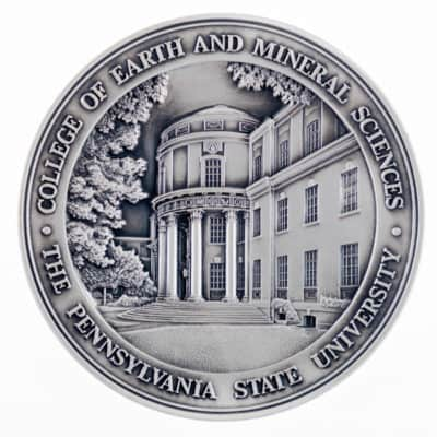 Pennsylvania State University College of Earth and Mineral Sciences Medallion