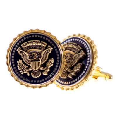 Presidential Seal Two Piece Cufflinks