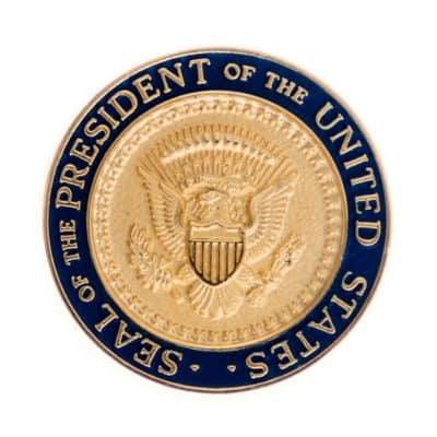 Seal of the President Lapel Pin