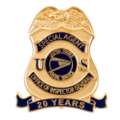 Special Agent Office of the Inspector General Lapel Pin