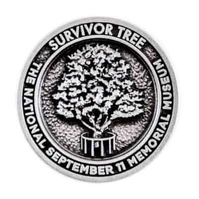 Survivor Tree September 11 Memorial Museum Lapel Pin