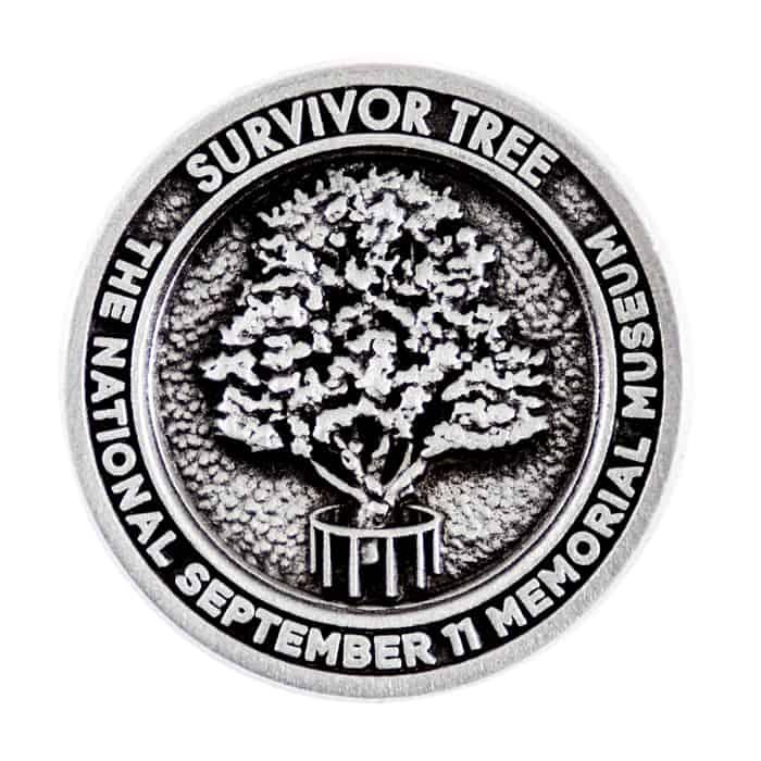 Survivor Tree September 11 Memorial Museum Lapel Pin