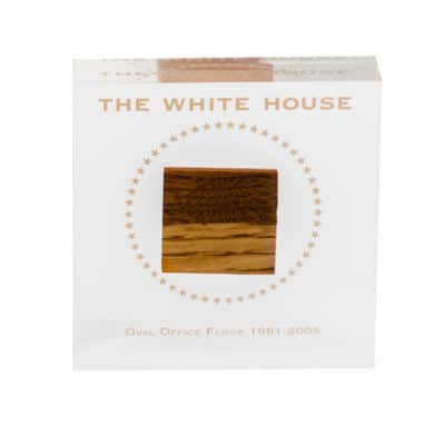 The White House Oval Office Floor Commemorative Lucite