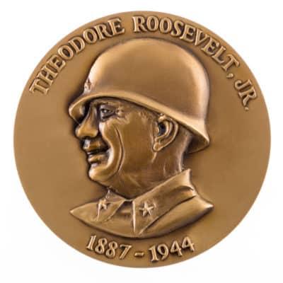 die struck brass medallion