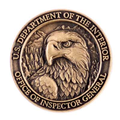 U.S. Department of the Interior Lapel Pin