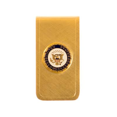 United States Congress Money Clip