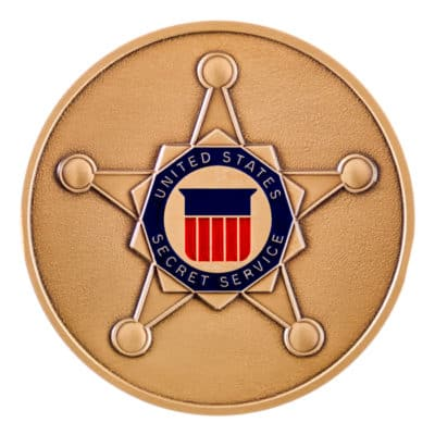 United States Secret Service Medallion Front