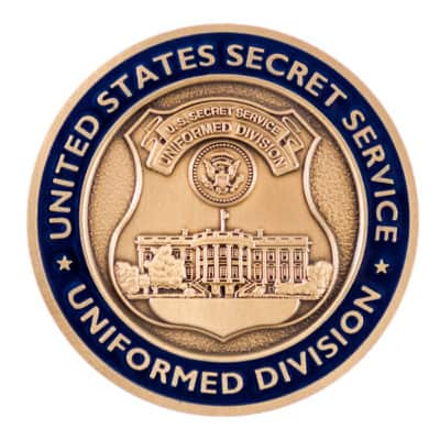 United States Secret Service Uniformed Division Challenge Coin Front