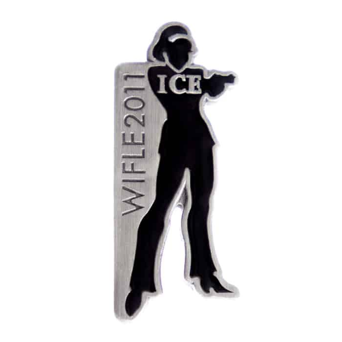 WIFLE 2011 ICE Lapel Pin