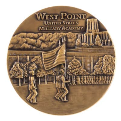 West Point 2002 Bicentennial Medallion Back