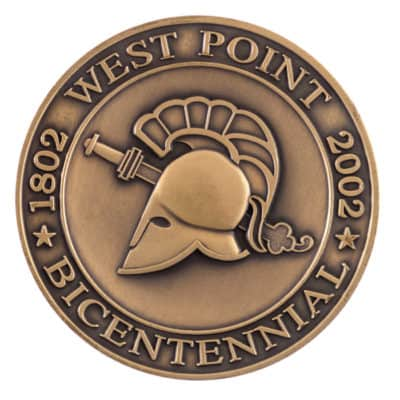 West Point 2002 Bicentennial Medallion Front