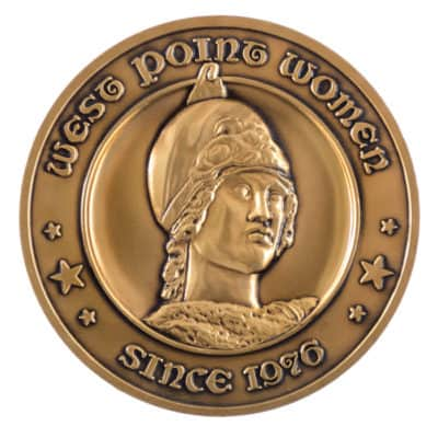 West Point Women Medallion Front