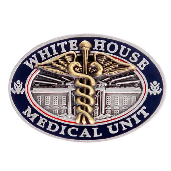 White House Medical Unit Lapel Pin
