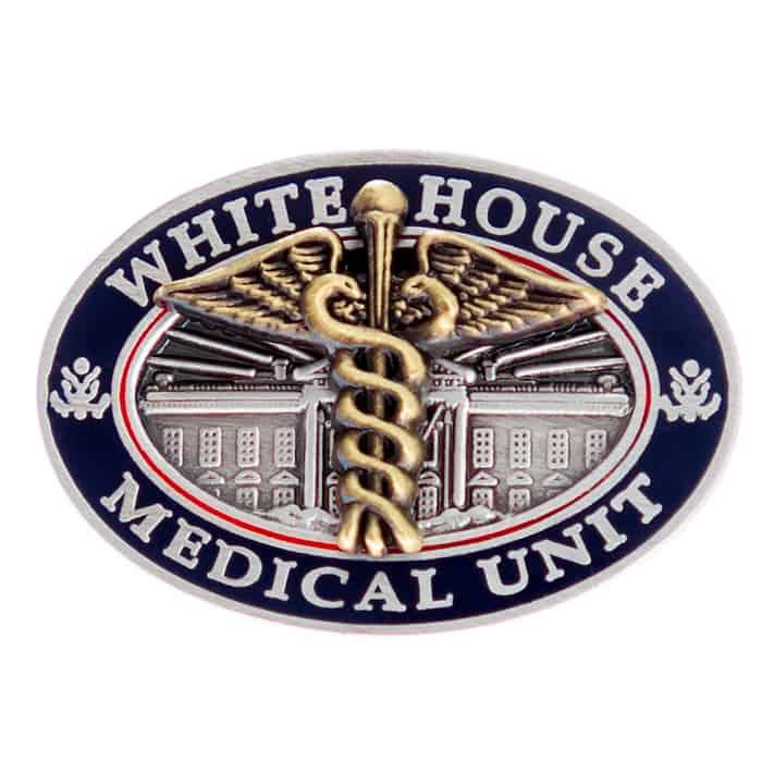 White House Medical Unit Lapel Pin