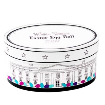 Easter Egg Roll White House 2007 Egg Basket