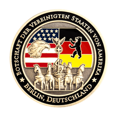 Berlin Ambassador Challenge Coin