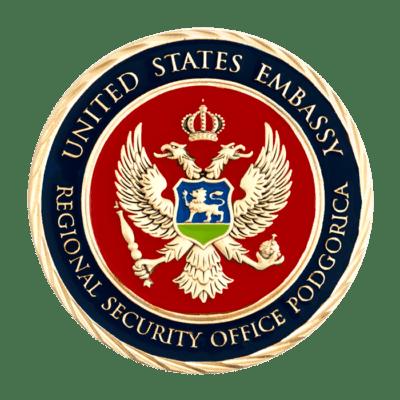 USE Podgoria Ambassador Challenge Coin