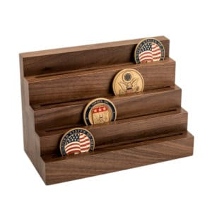 Four Tier Coin Stand Short