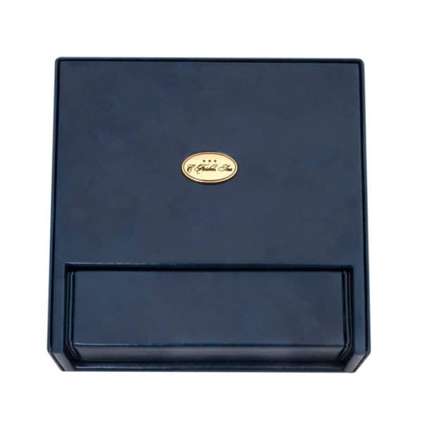 Blue Leather Pocket Box