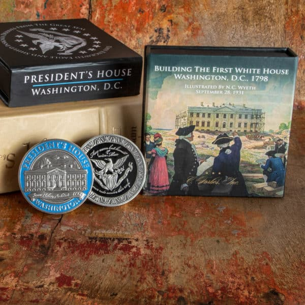 President's House Coin and Display Box