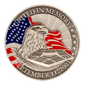 United In Memory Coin Obverse