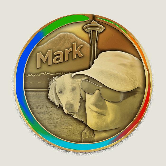 mark coin