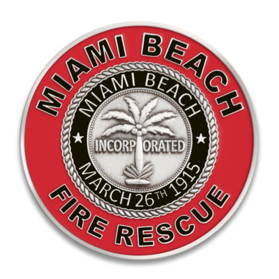 Miami Fire Challenge Coin