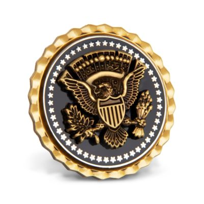 White House Two Piece Constructed Lapel Pin