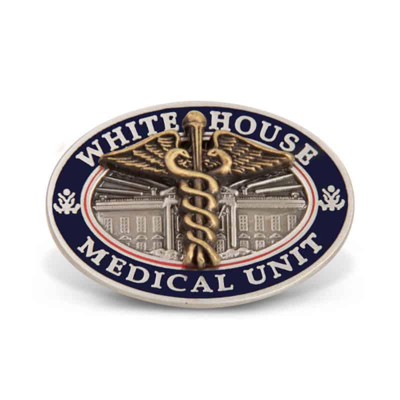 White House Medical Unit Pin