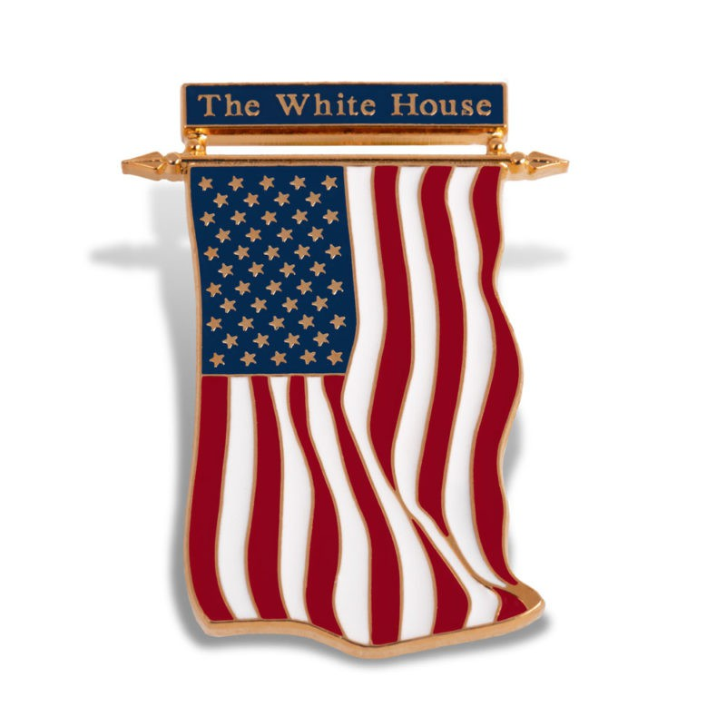 White House Custom Lapel Pin