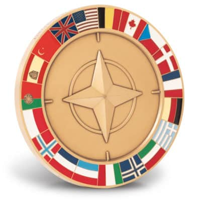 Custom NATO Medallion for DOD