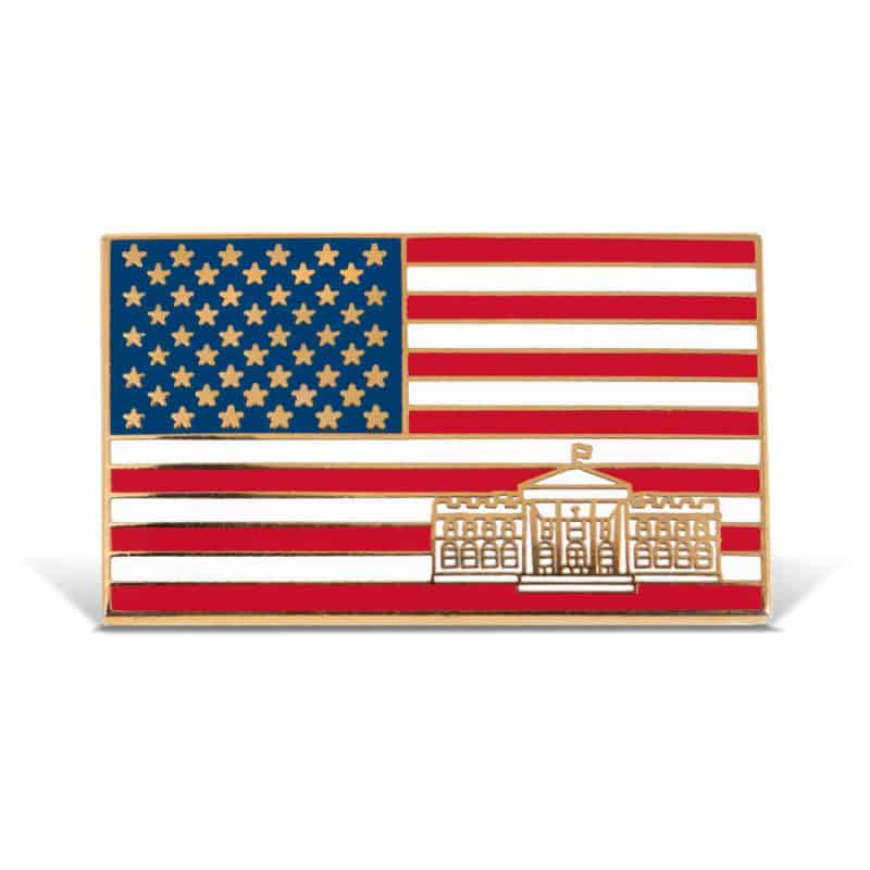 White House Lapel Pin Design
