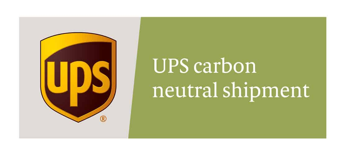 we offer carbon neutral shipping