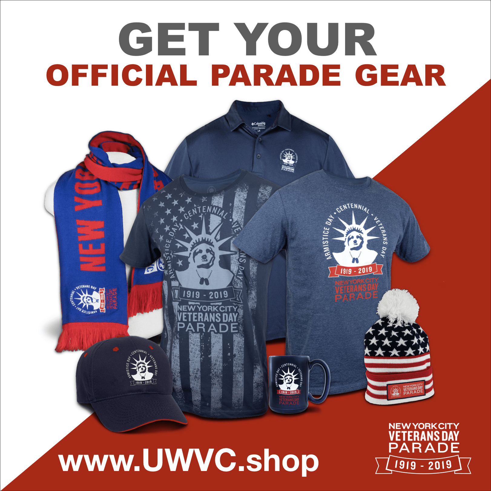 uwvc parade gear